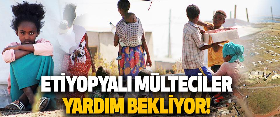 Etiyopyali Mülteciler Yardim Bekliyor!