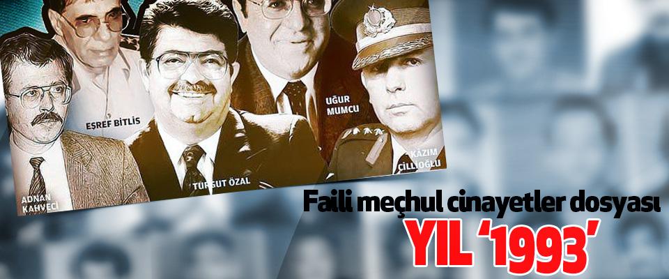 faili meçhul cinayetler dosyası yıl '1993'