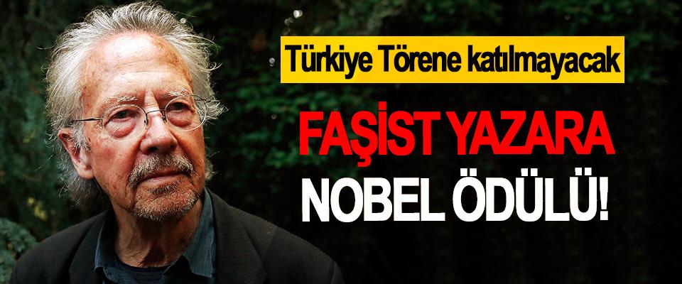 Faşist Yazara Nobel Ödülü!