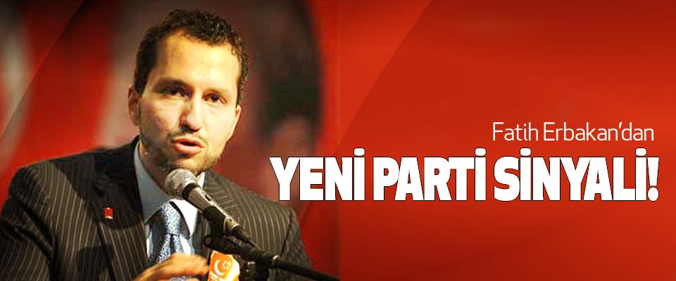 Fatih Erbakan'dan Yeni Parti Sinyali!