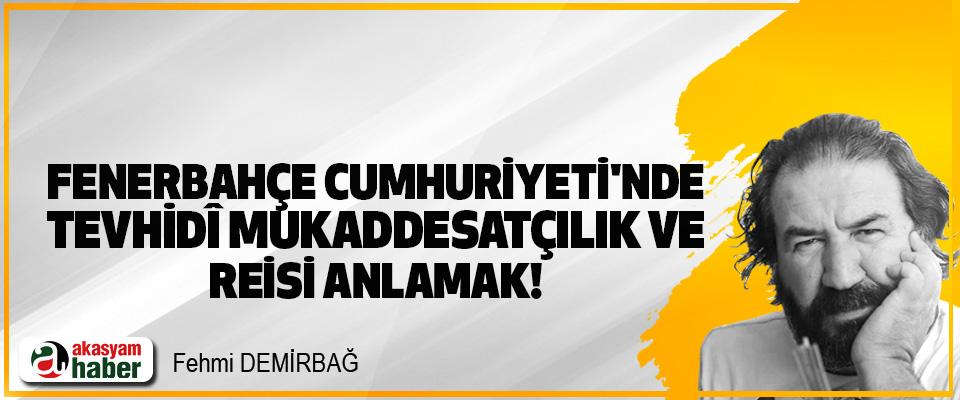 Fenerbahçe cumhuriyeti'nde