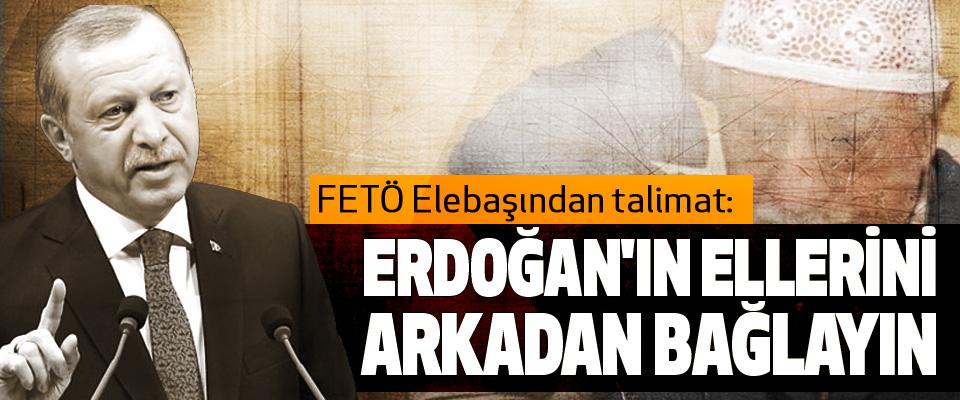 FETÖ Elebaşından talimat: Erdoğan'ın Ellerini Arkadan Bağlayın