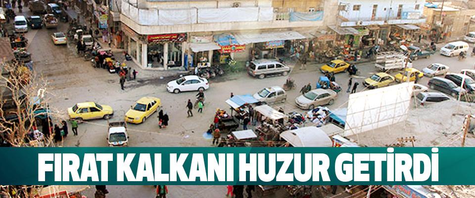 Fırat Kalkanı, 1.5 milyon Suriyeliye 'Huzur' getirdi