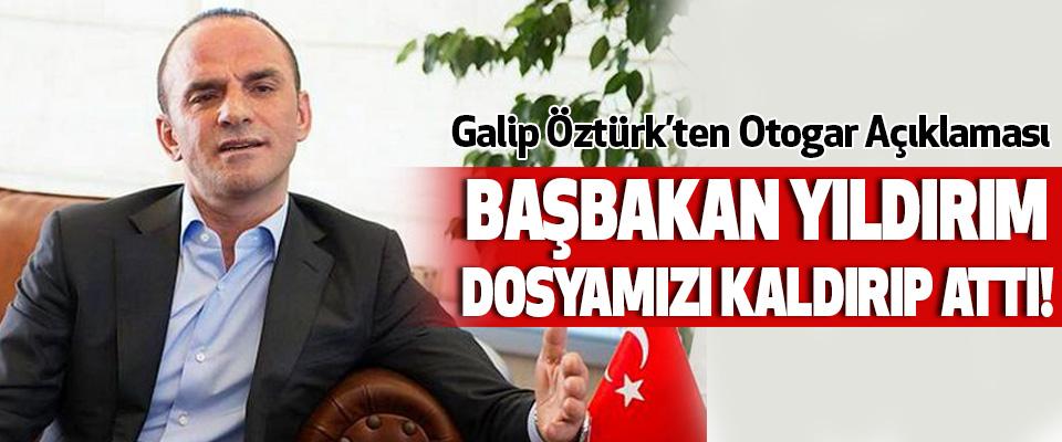 Galip Öztürk'ten Otogar Açıklaması
