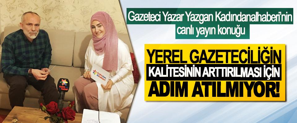 Gazeteci Yazar Yazgan Kadındanalhaberi'nin canlı yayın konuğu oldu