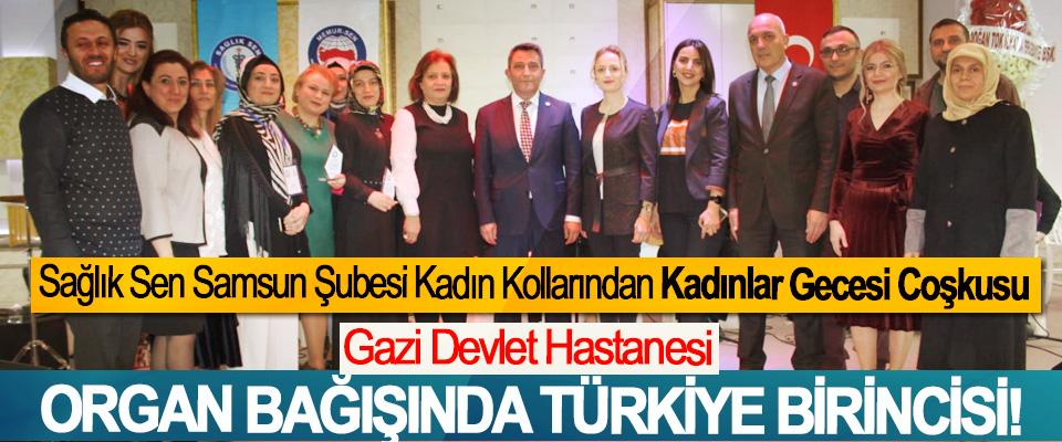 Gazi devlet hastanesi organ bağışında Türkiye birincisi!