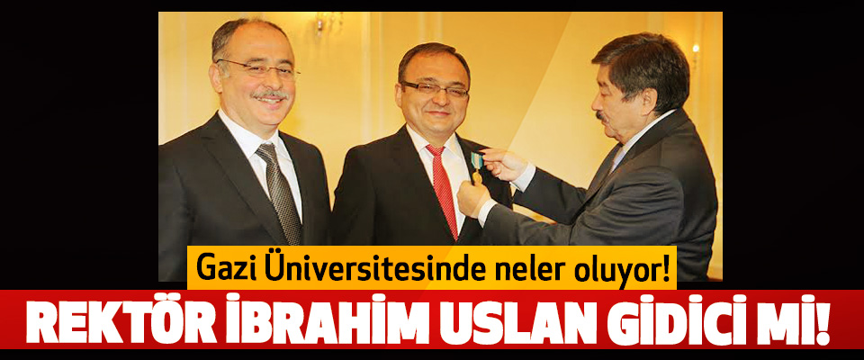 Gazi Üniversitesinde neler oluyor!