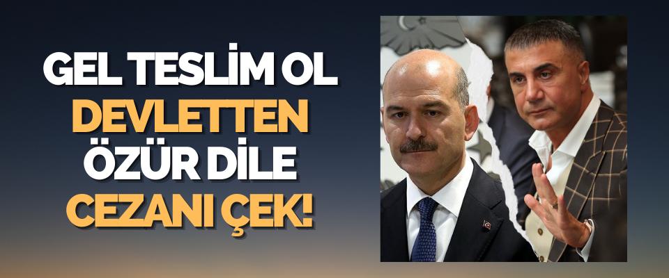 Gel Teslim Ol Devletten Özür Dile Cezanı Çek!