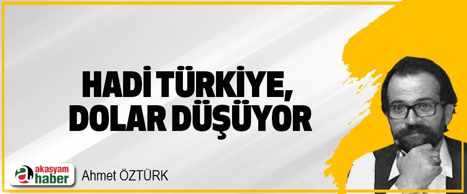 Hadi Türkiye, Dolar Düşüyor
