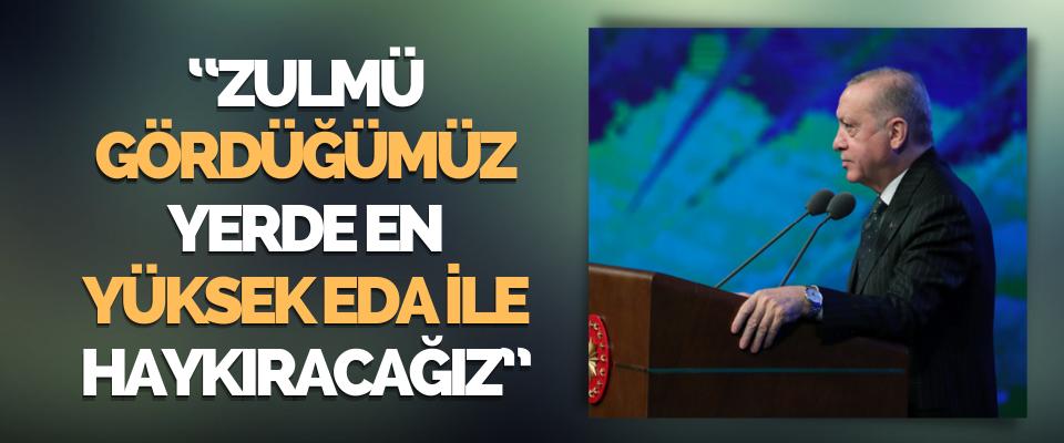 Haklının Güçlü Olduğuna İnandığımız Bir Dünyayı Kurmak İçin Türkiye Var!