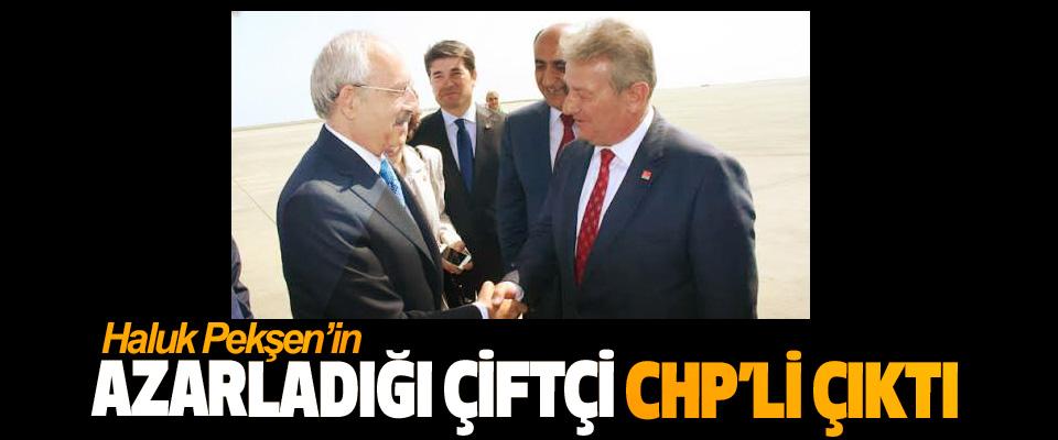 Haluk Pekşen'in Azarladığı Çiftçi CHP'li Çıktı
