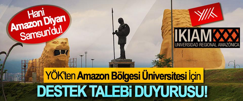 Hani Amazon Diyarı Samsun'du!