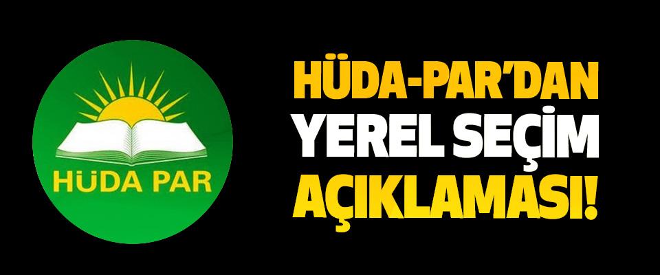 Hüda-par'dan yerel seçim açıklaması!