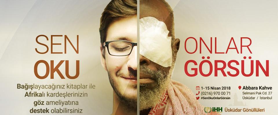 İHH Üsküdar Gönüllülerinden  Sen Oku Onlar Görsün Kampanyası