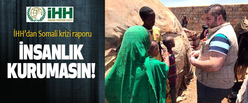 İHH'dan Somali krizi raporu