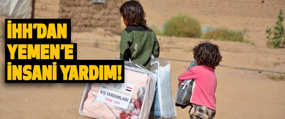 İHH'dan Yemen'e Insani Yardim!