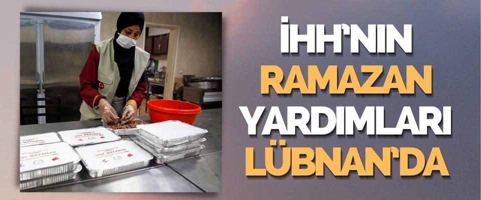 İHH'nın Ramazan Yardımları Lübnan'da