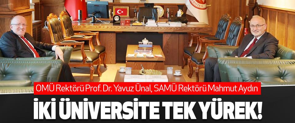 İki Üniversite Tek Yürek!