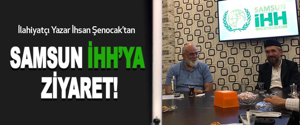 İlahiyatçı Yazar İhsan Şenocak'tan  Samsun İhh'ya Ziyaret!