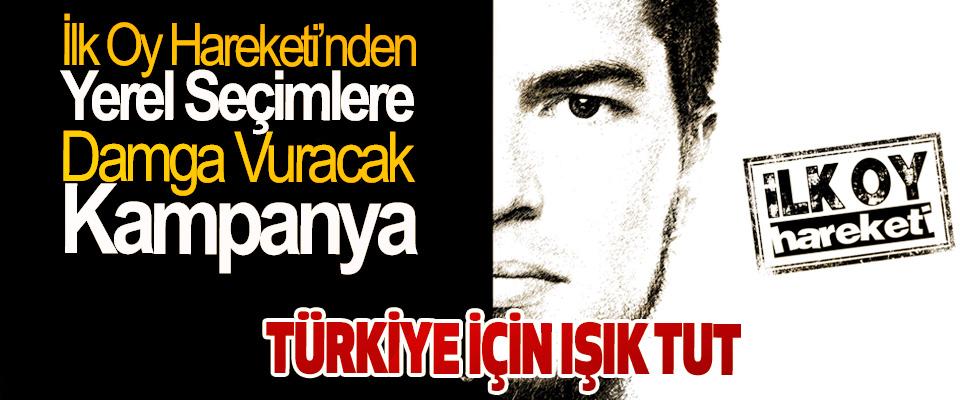 İlk Oy Hareketi'nden Yerel Seçimlere Damga Vuracak Kampanya: Türkiye İçin Işık Tut
