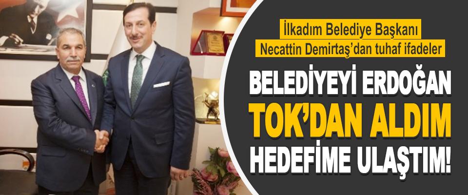 İlkadım Belediye Başkanı Necattin Demirtaş'dan tuhaf konuşmalar