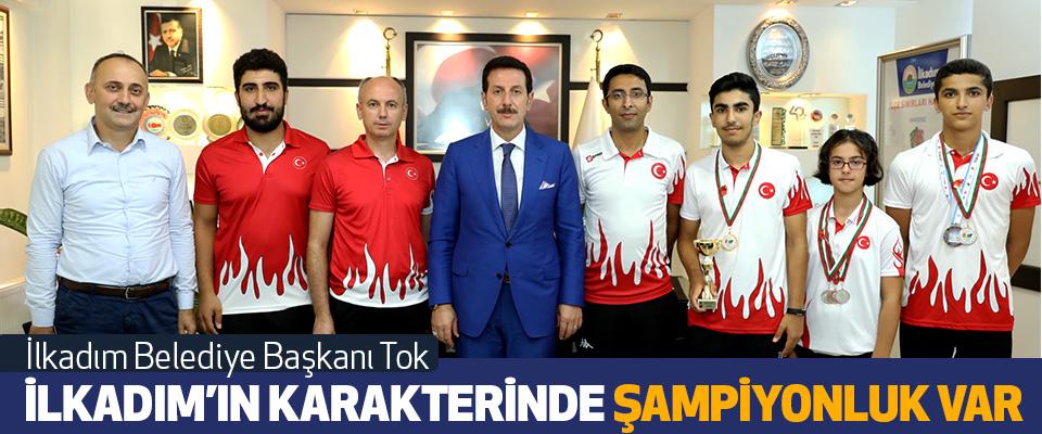 İlkadım Belediye Başkanı Tok: İlkadım'ın Karakterinde Şampiyonluk Var