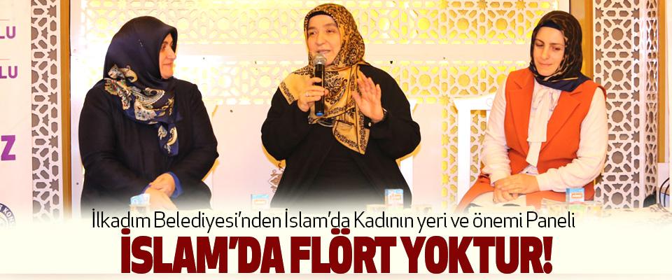İlkadım Belediyesi'nden İslam'da Kadının yeri ve önemi Paneli