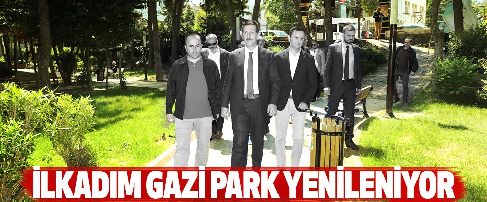 İlkadım Gazi Park Yenileniyor