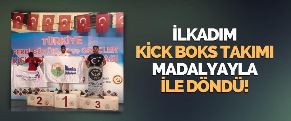 İlkadım Kick Boks Takımı Madalyayla İle Döndü!
