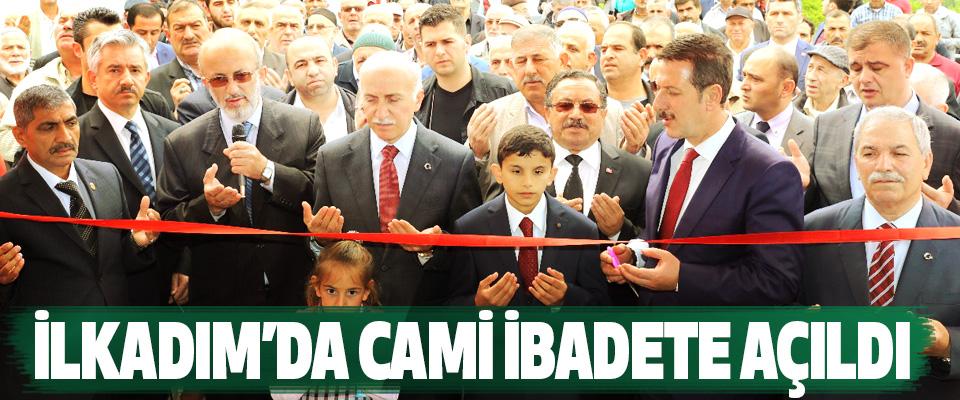 İlkadım'da Uzgur Camii İbadete Açıldı