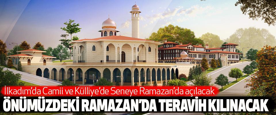 İlkadım'da Camii ve Külliye'de Seneye Ramazan'da açılacak