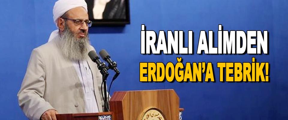 İranlı Alimden Erdoğan'a Tebrik!