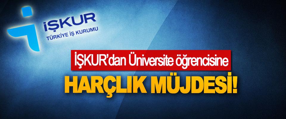 İŞKUR'dan Üniversite öğrencisine Harçlık Müjdesi!