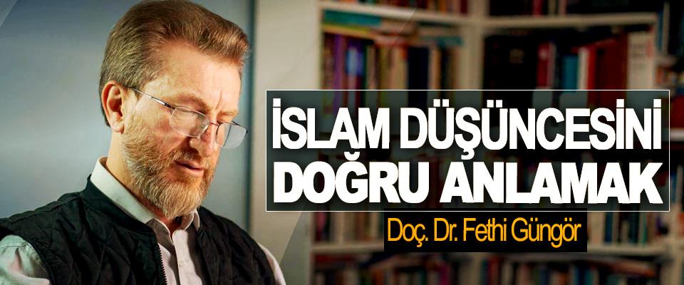 İslam Düşüncesini Doğru Anlamak