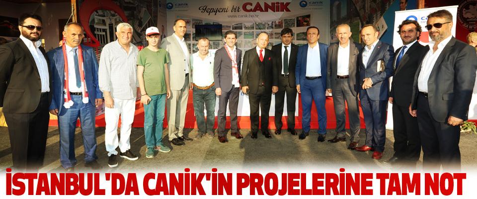İstanbul'da Canik'in Projelerine Tam Not