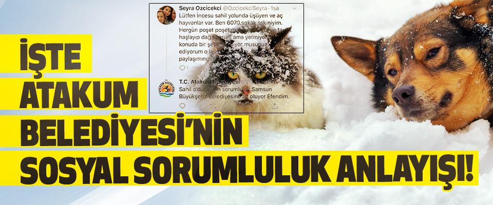 İşte Atakum Belediyesi'nin Sosyal Sorumluluk Anlayışı!