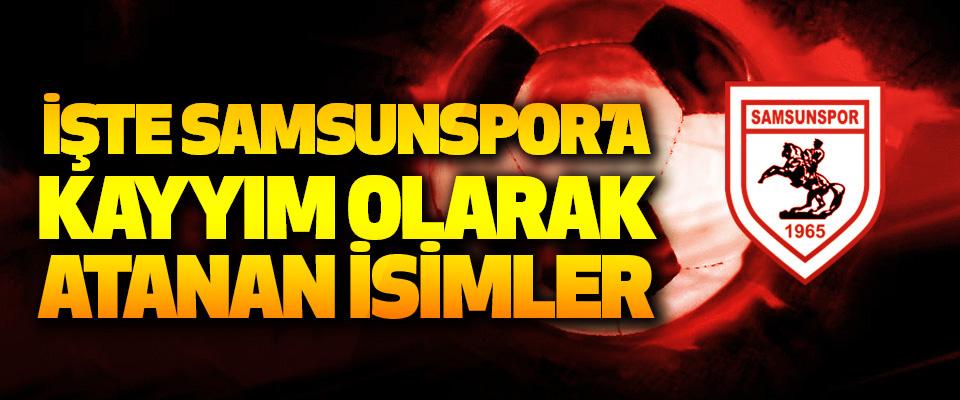 İşte Samsunspor'a Kayyım Olarak Atanan İsimler
