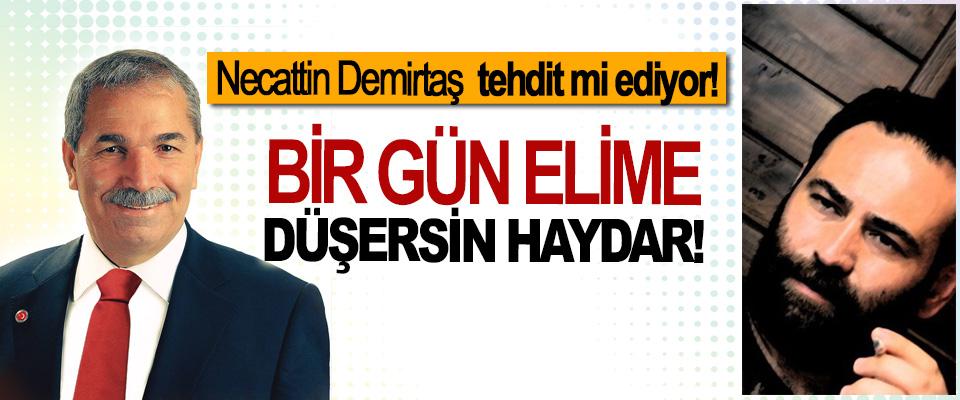 İYİ Parti İlkadım Belediye Başkanı Adayı Necattin Demirtaş tehdit mi ediyor!