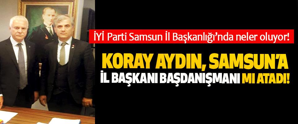 İYİ Parti Samsun İl Başkanlığı'nda neler oluyor!
