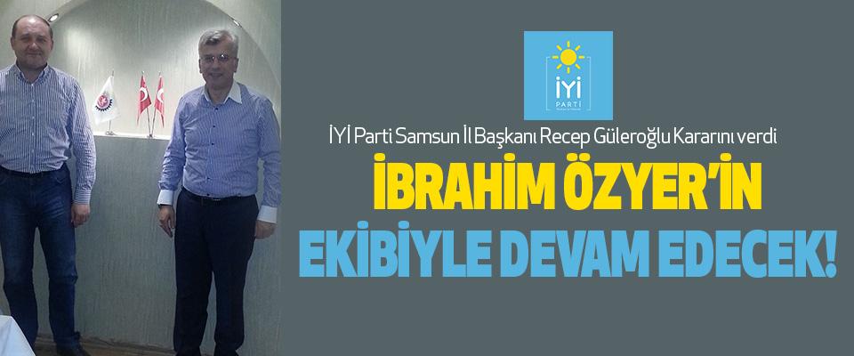 İYİ Parti Samsun İl Başkanı Recep Güleroğlu Kararını verdi