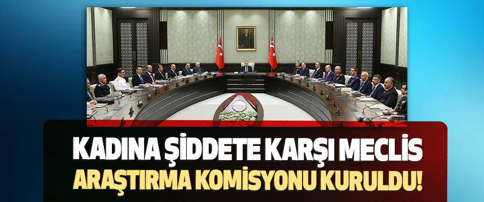 Kadına Şiddete Karşı Meclis Araştırma Komisyonu Kuruldu!