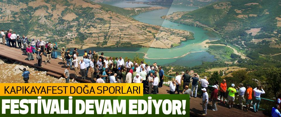 Kapıkayafest Doğa Sporları Festivali Devam Ediyor!