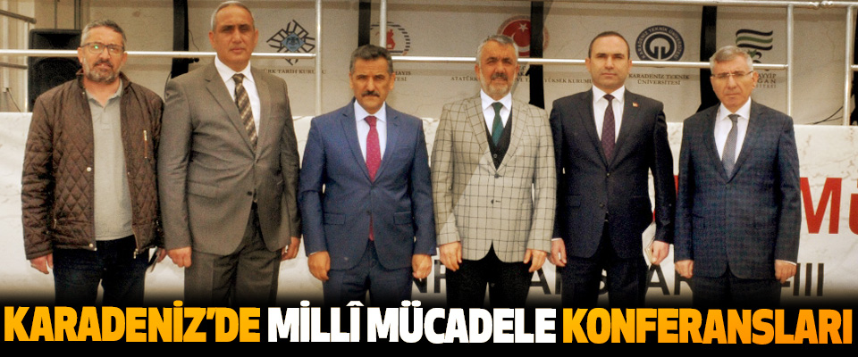 Karadeniz'de Millî Mücadele Konferansları