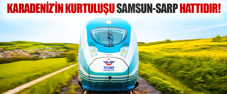 Karadeniz'in Kurtuluşu Samsun-Sarp Hattıdır!
