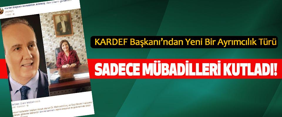 KARDEF Başkanı'ndan Yeni Bir Ayrımcılık Türü: Sadece mübadilleri kutladı!