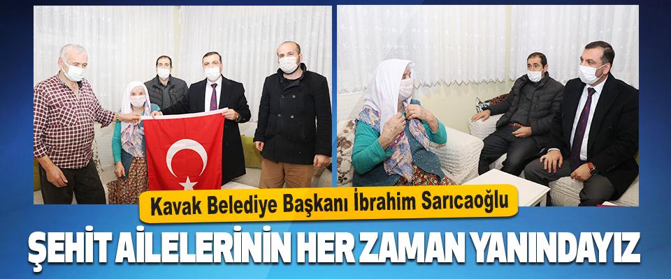 Kavak Belediye Başkanı İbrahim Sarıcaoğlu