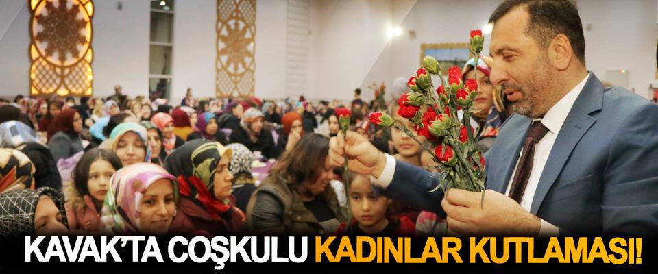 Kavak'ta coşkulu kadınlar kutlaması!