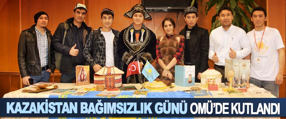 Kazakistan Bağımsızlık Günü OMÜ'de Kutlandı