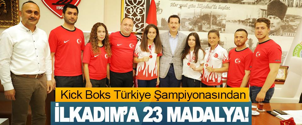 Kick Boks Türkiye Şampiyonasından İlkadım'a 23 Madalya!