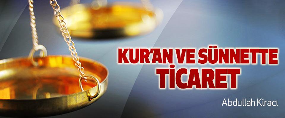 Kur'an Ve Sünnette Ticaret